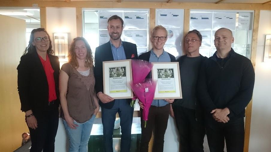 Ja till trängselskatt och Västsvenska Handelskammaren tilldelades årets Kaprifolpris.