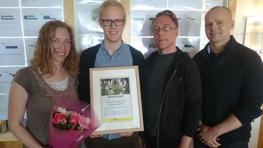 Ja till trängselskatt: av Åsa Österlund, Gabriel Lindh, Sören Jensen och David Liljeros.